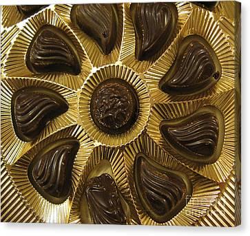 A Chocolate Sun Canvas Print by Ausra Huntington nee Paulauskaite