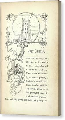 Chimes Canvas Print - A Church by British Library