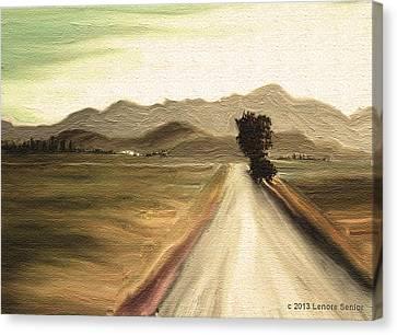 A Classic Landscape Canvas Print