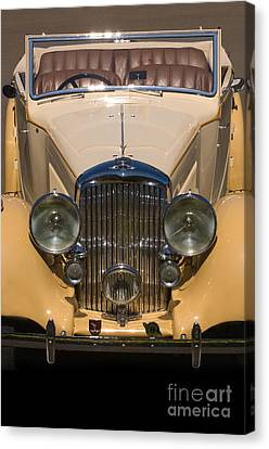 A Classic Rolls Royce Canvas Print by Ron Sanford