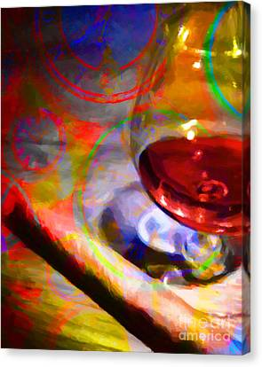 A Cognac Night 20130815 Canvas Print by Wingsdomain Art and Photography