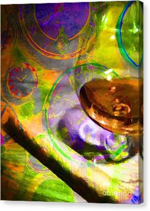 A Cognac Night 20130815p28 Canvas Print by Wingsdomain Art and Photography