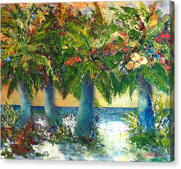 A Color Symphony Canvas Print by Annie St Martin
