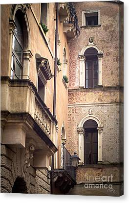 A Corner Of Vicenza Italy Canvas Print