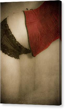 A Corset Story #02 Canvas Print by Loriental Photography