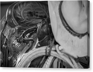 A Cowboy's Gear Canvas Print