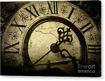 A Crack In Time Canvas Print by Sharon Coty