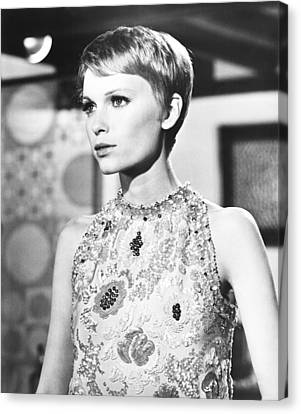 A Dandy In Aspic, Mia Farrow, 1968 Canvas Print by Everett