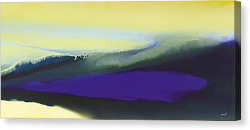 A Dark Momentum Canvas Print by The Art of Marsha Charlebois