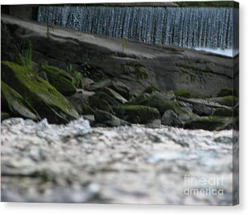 Canvas Print featuring the photograph A Day At The River by Michael Krek