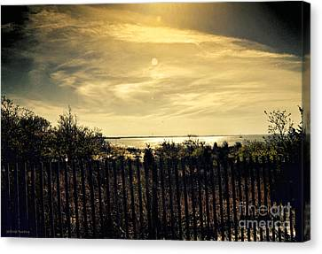 A Day Comes To An End Canvas Print by Gerlinde Keating - Galleria GK Keating Associates Inc
