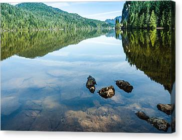A Day Of Calm - 3 Canvas Print