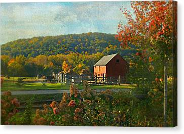 A Day On The Farm Canvas Print
