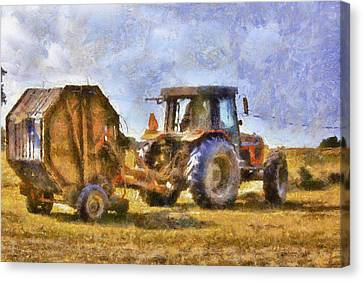 A Day's Work Canvas Print