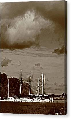 A Delta Storm  Canvas Print by Joseph Coulombe