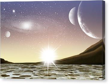 A Distant World Canvas Print by Brian Wallace