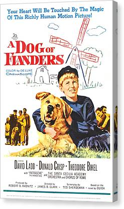 A Dog Of Flanders, Us Poster, David Canvas Print by Everett