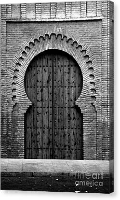 A Door To Glory Canvas Print by Syed Aqueel