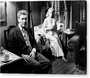A Double Life, From Left, Ronald Canvas Print