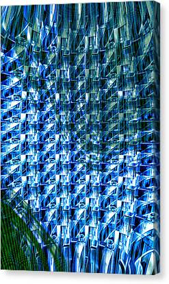 Digital Free Style Canvas Print - Digital Reflections by Kellice Swaggerty