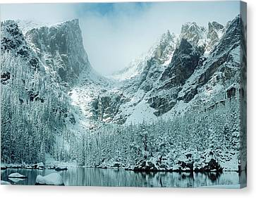 A Dream At Dream Lake Canvas Print