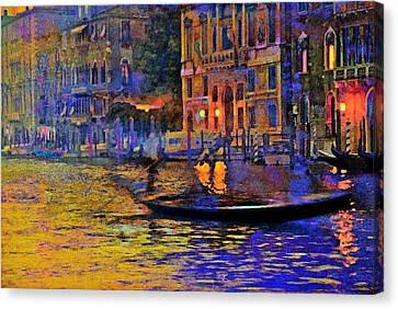 A Dream Of Venice Canvas Print by Steven Boone