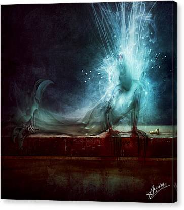 A Dying Wish Canvas Print by Mario Sanchez Nevado