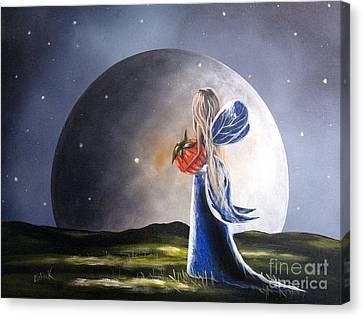 A Fairy Tale By Shawna Erback Canvas Print
