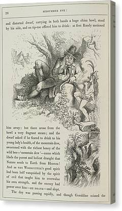 A Fairy Tale Of Love Canvas Print by British Library