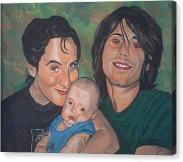 A Family Portrait Canvas Print