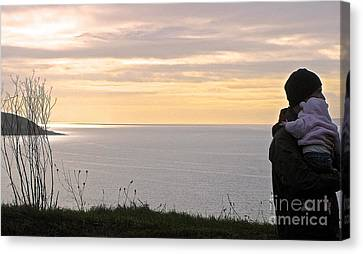 A Father's Love Canvas Print by Suzanne Oesterling