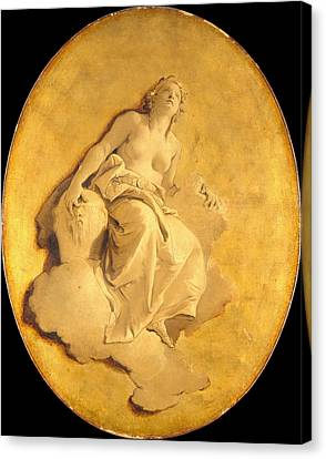 A Female Allegorical Figure Canvas Print
