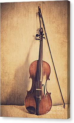 Violin Canvas Print - A Fiddle by Emily Kay