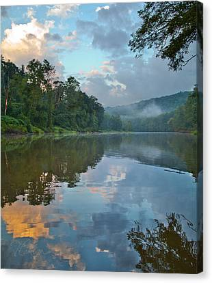 Canvas Print featuring the photograph A First Smell Of Fall by Tom Cameron