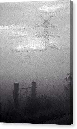 A Foggy Day Canvas Print by Steve K