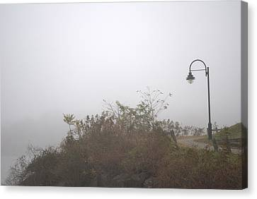 A Foggy Morning Canvas Print