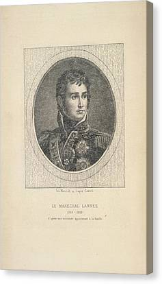 A French Marshal Canvas Print by British Library