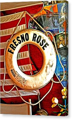 My Fresno Rose Canvas Print by Joseph Coulombe