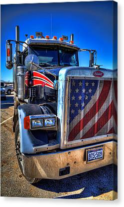 A Friend Of Optimus Prime Canvas Print by Tim Stanley