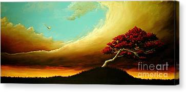 A Fundamental Element Of Fire Canvas Print