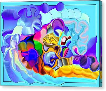 A Galaxy Of Cosmos Canvas Print