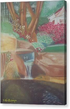 A Garden Of Peace Canvas Print