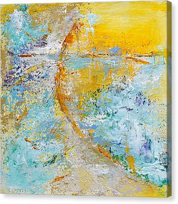A Gentle Convergence Canvas Print