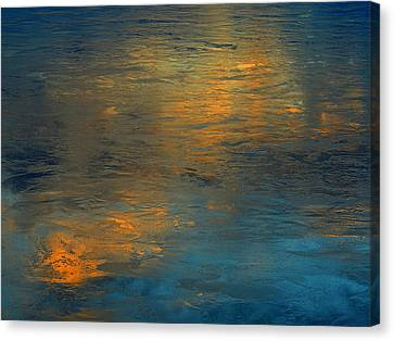A Gift Of Gold Canvas Print by Dennis James