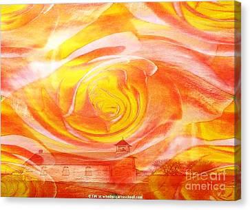 A Glorious God Canvas Print by PainterArtist FIN