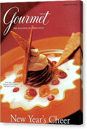 A Gourmet Cover Of Moch Mousse Canvas Print by Romulo Yanes