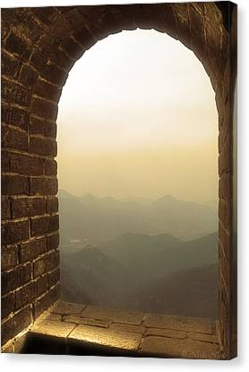A Great View Of China Canvas Print by Nicola Nobile