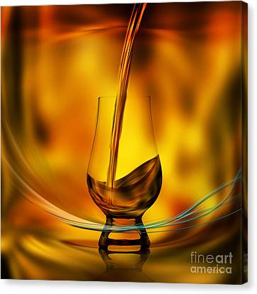 A Great Whisky Canvas Print