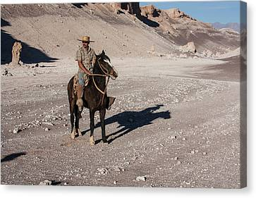 Pedro Canvas Print - A Guided Ride Through The Death Valley by Mallorie Ostrowitz