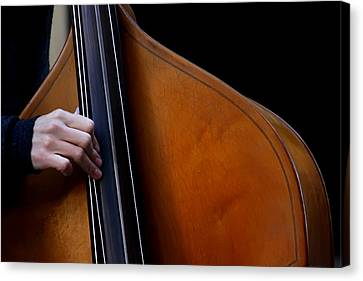 A Hand Of Jazz Canvas Print